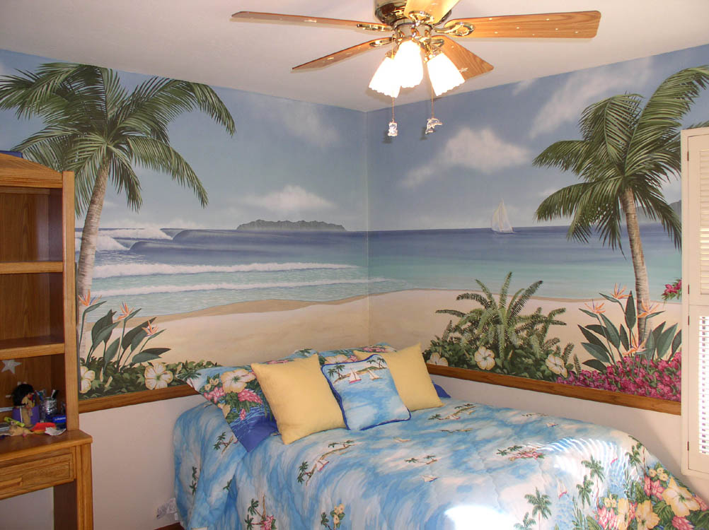 Http Pinstake Com Bedroom Ideas In Tropical Kids With Tropical Bedding And  Beachy Roo