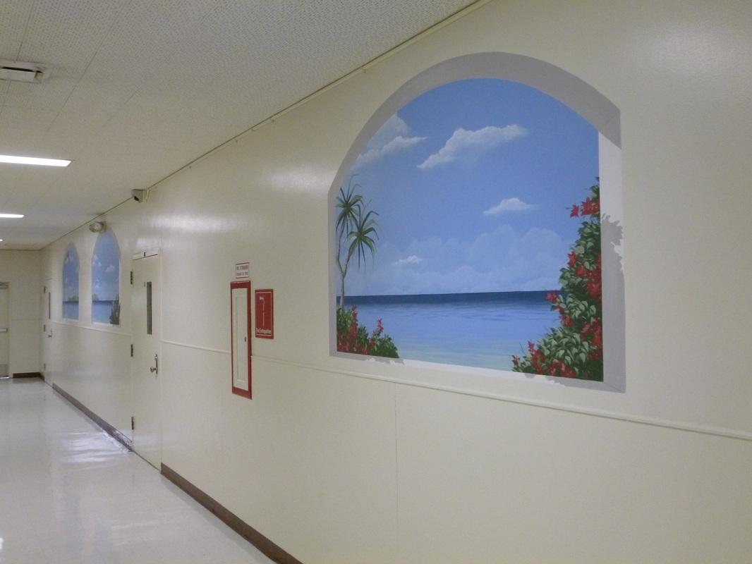 Commercial Custom Murals And Fine Art